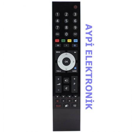 Arçelik-Beko Guide Tuşlu Lcd Tv Kumandası